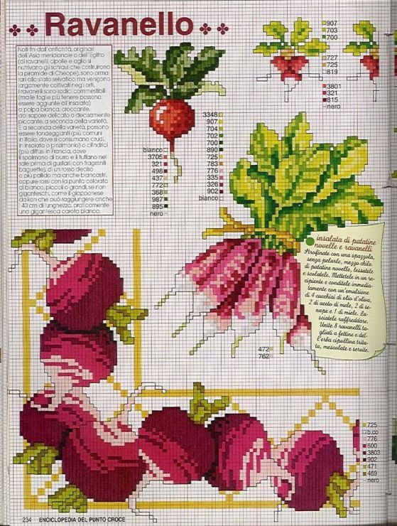 Gallery.ru / Фото #142 - EnciclopEdia Italiana Frutas e verduras - natalytretyak