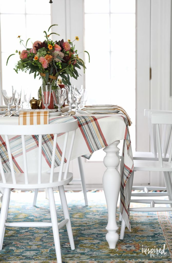 Stylish Fall Decor Ideas for Your Dining Room #fall #decorating