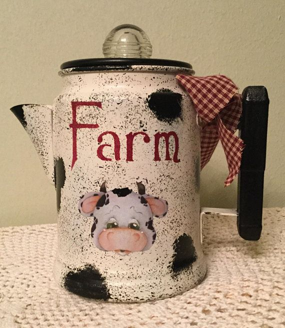 Housewarming Gift Farm Decor Cow