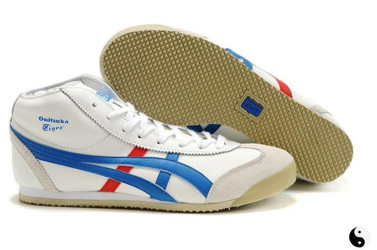 Onitsuka Tiger Mexico Mid Runner White/Blue/Red [SKU:#6058167] - $74.00 : Onitsuka Tiger Shoes, Online Shopping for Mexico 66,Ultimate 81