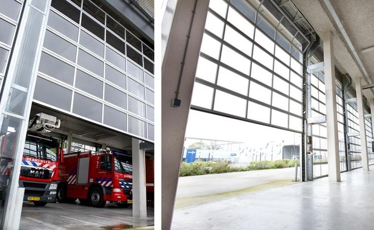 Nuevas puertas seccionales de fibra de vidrio spacelite - Puertas de fibra de vidrio ...