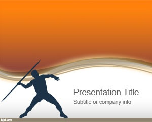 Olympic Javelin PowerPoint Template is a free PowerPoint template that you can download and use to show Javelin tournament results after the Olympics games