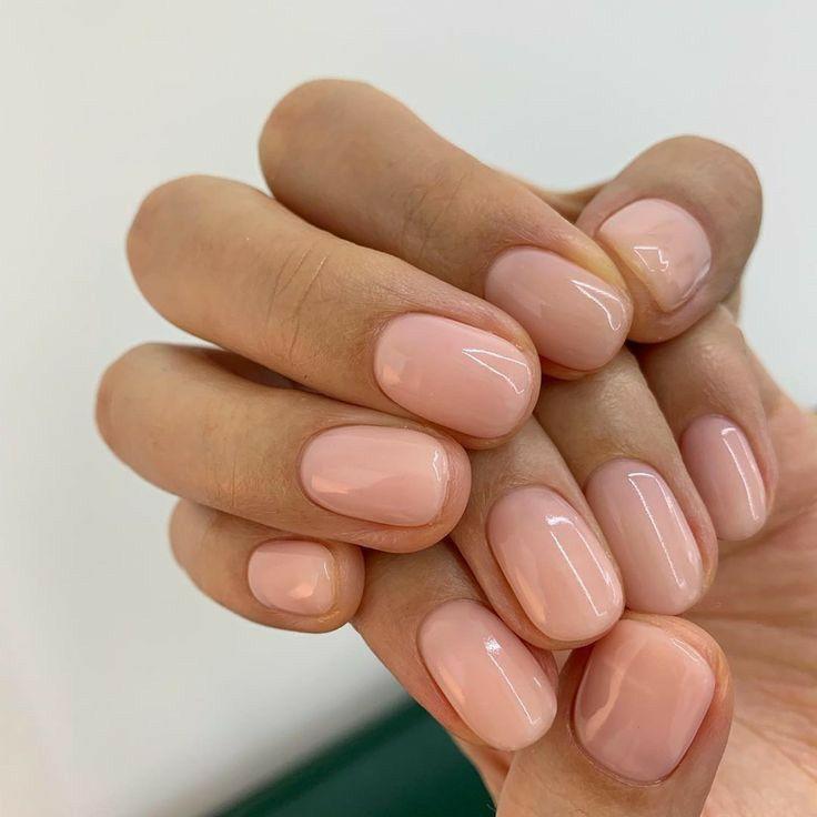 Nada Elba Pink Nails Rose Nails Powder Nails