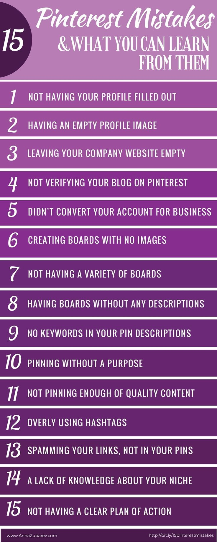 15 Pinterest Mistakes and What You Can Learn From Them via /annazubarev/ via /https/://www.pinterest.com/annazubarev/