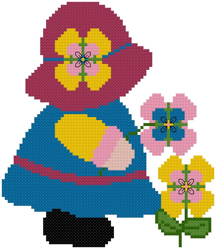 Miss May Sunbonnet Sue