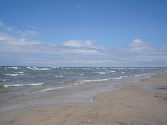 Wasaga Beach, Canada Ontario... It was great when I was young. Now, not as much.