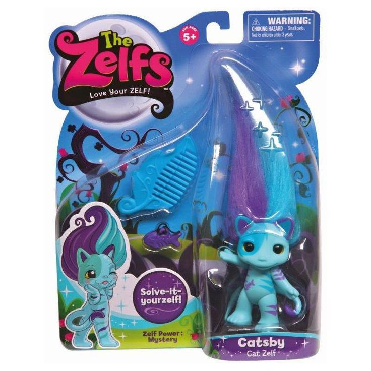 The Zelfs Medium Zelfs Series 2 Catsby Theres 12 new 8cm Zelfs to collect including 6 Masquerade themed! Each style of Zelf has a unique personality and power mark and comes with hair-accessories and a comb to kleep those wayward locks in  http://www.comparestoreprices.co.uk/childs-toys/the-zelfs-medium-zelfs-series-2-catsby.asp