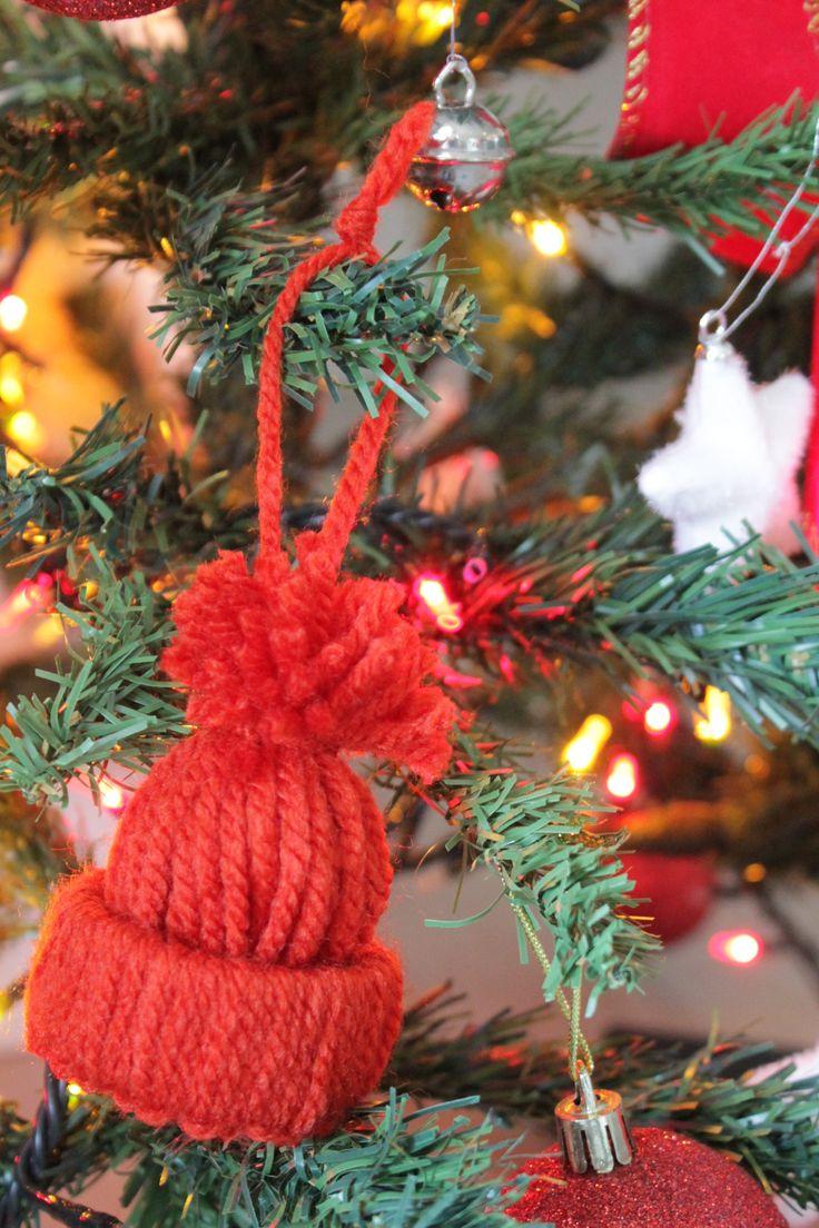 step 14 il vostro cappellino di lana è pronto!  your warm hat is ready !