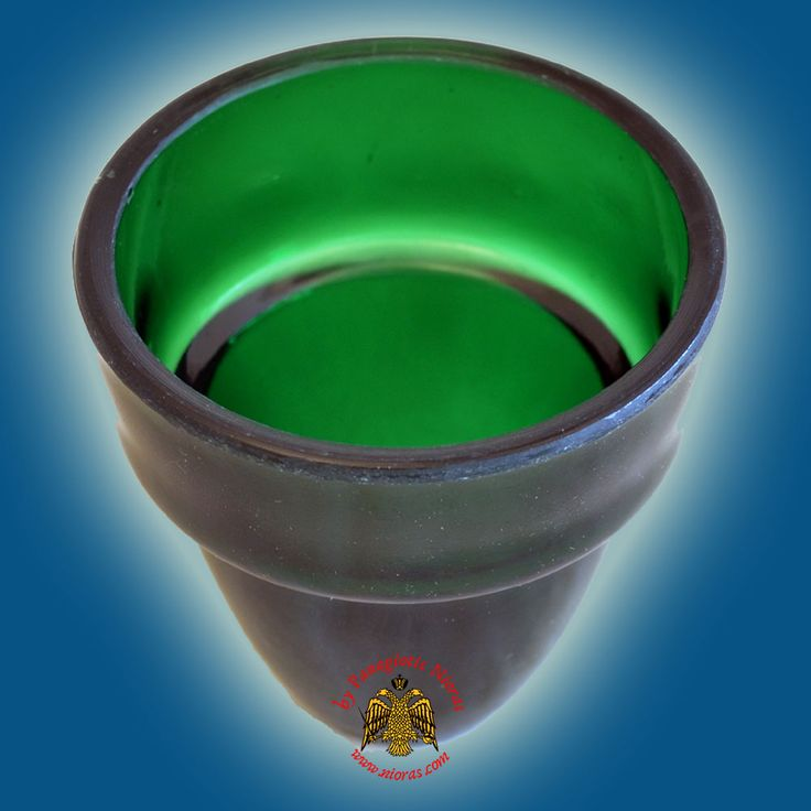 Replacement Oil Candle Glass Cup. Green symbolizes the renewal of vegetation and generally of living things and the promise of new life. It is used for the Season of Epiphany between Transfiguration Sunday and the beginning of Lent, and for Ordinary Time between Trinity Sunday (first Sunday after Pentecost) and the beginning of Advent.