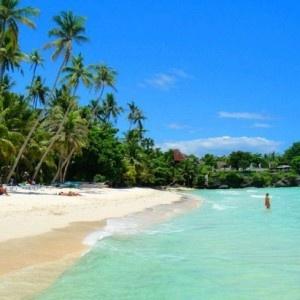 L'isola di Bohol nelle Filippine