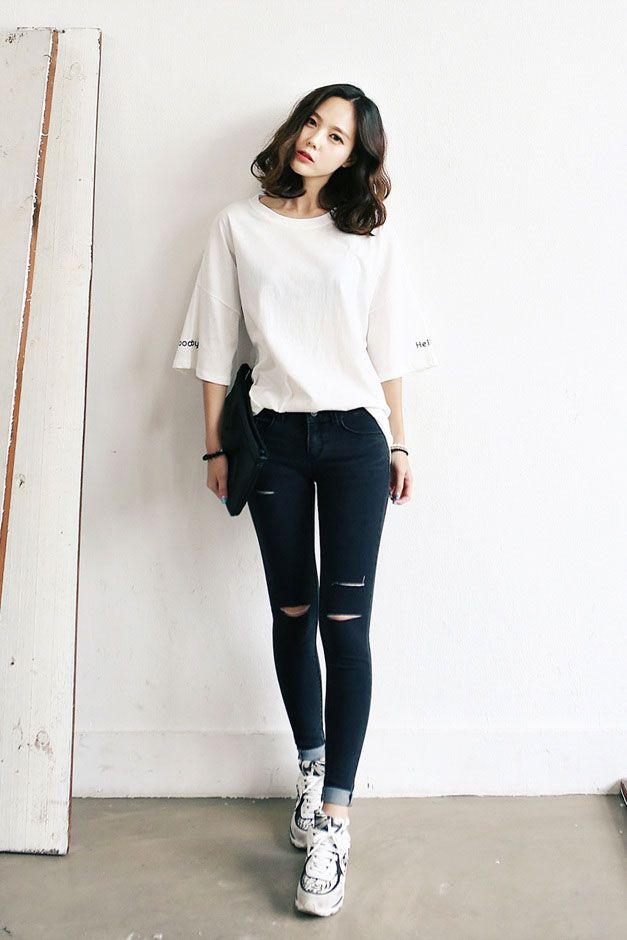 Best 25 Korean Fashion Summer Ideas On Pinterest Korean Casual Outfits Korean Spring Fashion