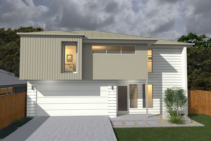 Costa Home Designs  Sunshine Coast Home Builders VILLA260 Classic Facade