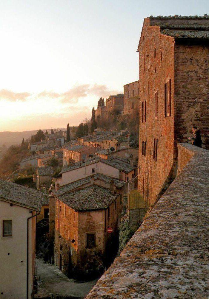 Montepulciano, Toscane, Italie, visiter la toscane