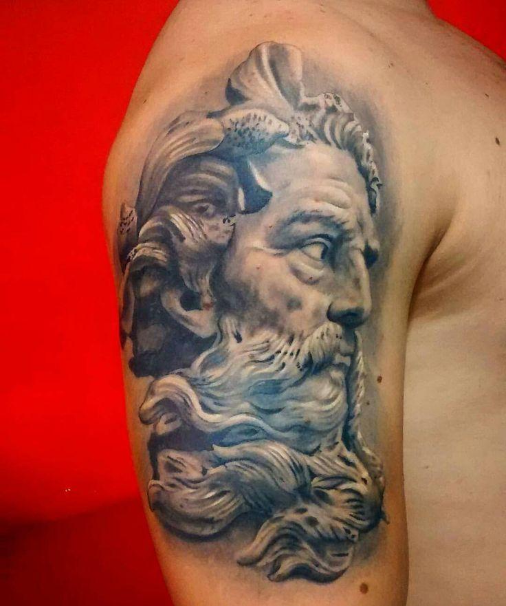 1000 ideas about poseidon tattoo on pinterest zeus tattoo tattoos and shark tattoos. Black Bedroom Furniture Sets. Home Design Ideas