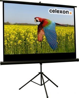 Celexon 1090260- Pantalla proyección tripode Básica, 158 x 89 cm -  http://tienda.casuarios.com/celexon-1090260-pantalla-proyeccion-tripode-basica-158-x-89-cm-10000-g-negro-blanco/