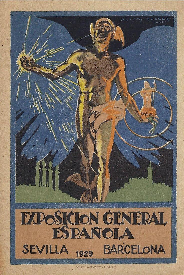 #arxiu #postal #expo1929 #Barcelona