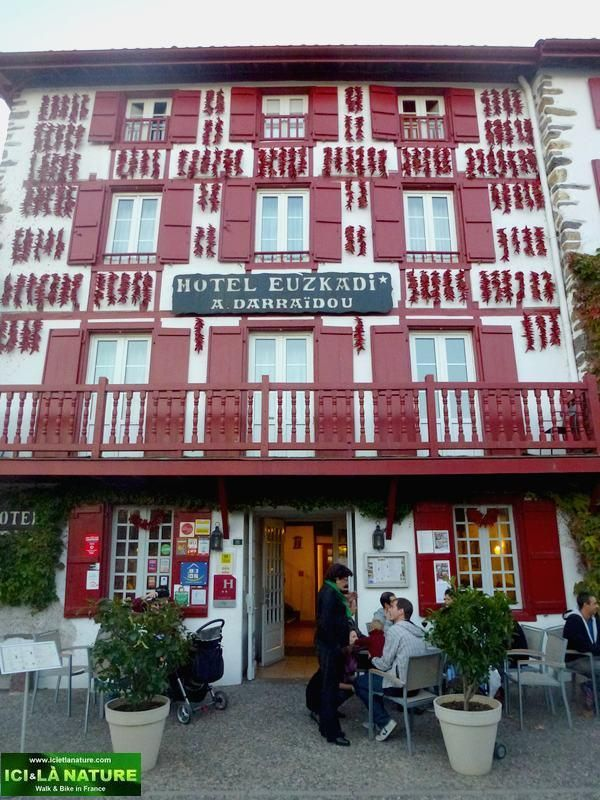 espelette hotel euzkadi France