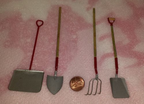 Details about VINTAGE DOLLHOUSE GARDENING TOOLS   MINIATURE FARMING TOOLS 3  SHOVELS AND RAKE. 17 Best images about Miniature garden on Pinterest   Timeline