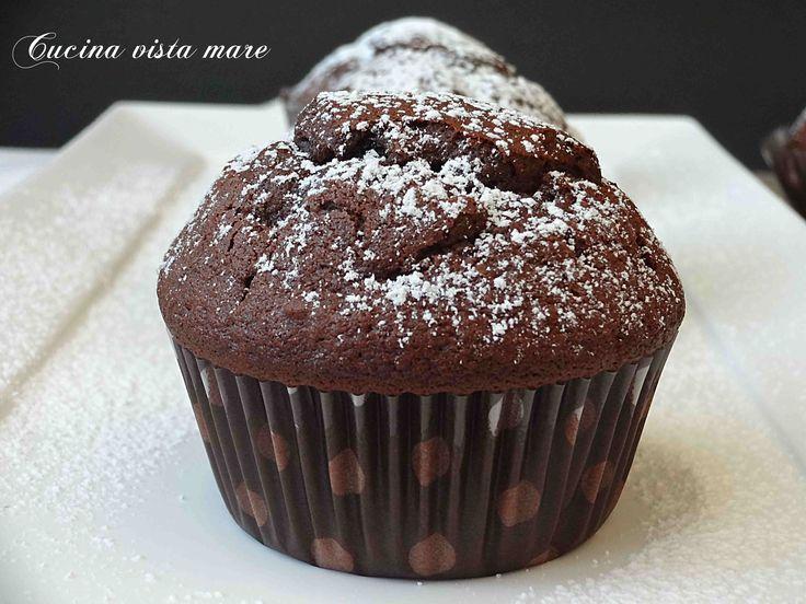 Muffin+al+cacao+facili