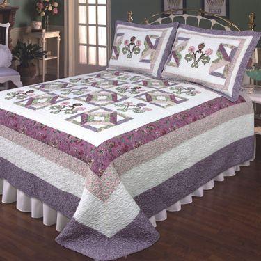 Wonderland Cotton Floral Quilt Bedding
