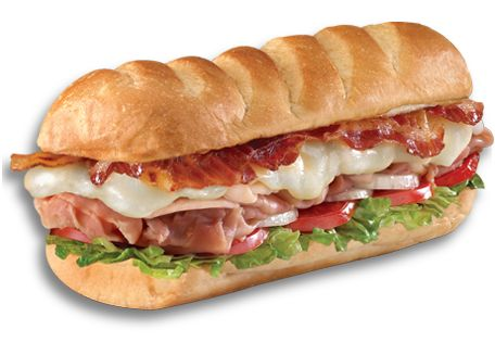 Firehouse Subs.. YUMMY!!! - Club on a Sub - Smoked turkey breast, Virginia honey ham, crispy BACON, melted Monterey Jack, served Fully Involved.