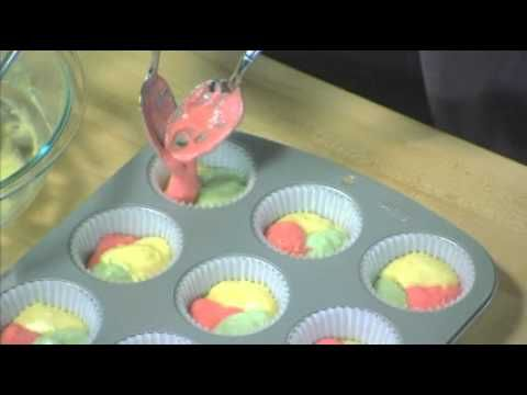 Jell-O Tie Dye Fruity Cupcakes | Cupcake & Muffins | Pinterest