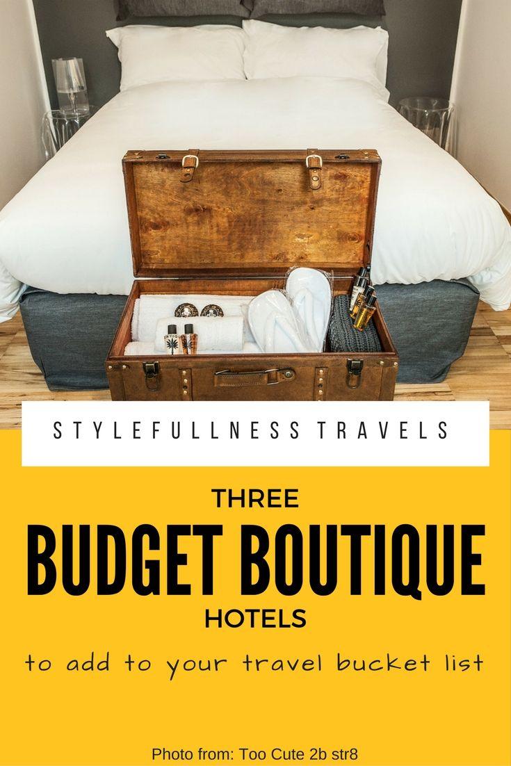 Gorgeous budget boutique hotels