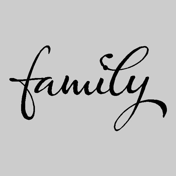 Best Family Wall Sayings Images On Pinterest - Custom vinyl wall decals word art ideas
