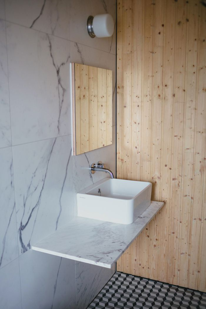 men bathroom tumblr%0A Kitchen and bathroom babeness in this Freemans Bay reno  by architects