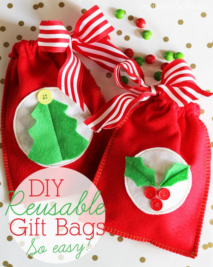 How To Make Reusable Gift Bags Fabric Gift Bags Reusable Gift Bags Fabric Gifts