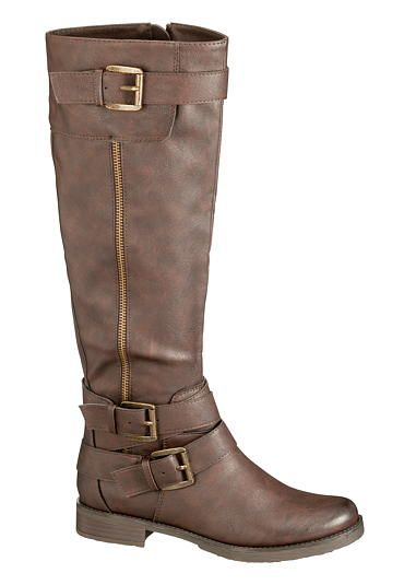 Greta 3 buckle riding boot (original price, $59) available at #Maurices