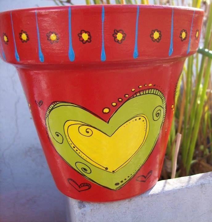Macetas de GRAN corazon!!