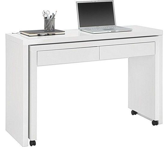 Ein schickes raumwunder mit praktischen details der for Schreibtisch pinterest