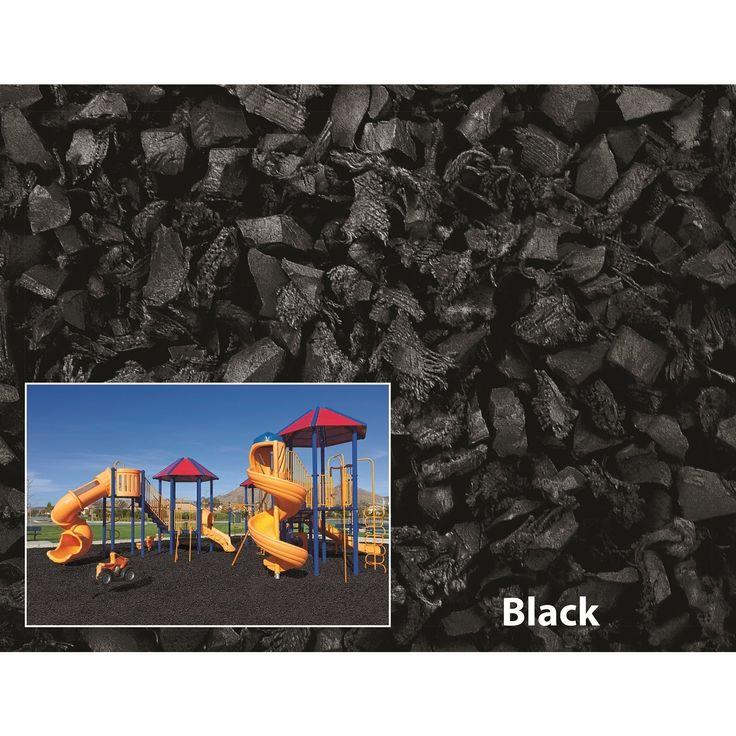 International NuPlay Rubber Mulch 75 Cubic Foot Pallet #NP75CFBK