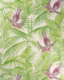 Ääääälskar den här!/Just love this wallpaper!  Sunbird Ruby/Kiwi från Matthew Williamson
