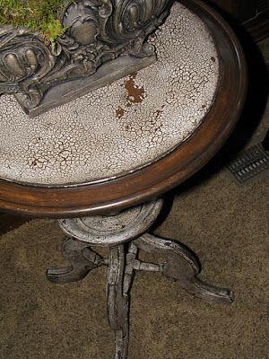 Crackling furniture 101