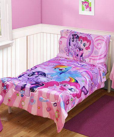 Look at this #zulilyfind! My Little Pony Bedding Set by Baby Boom #zulilyfinds