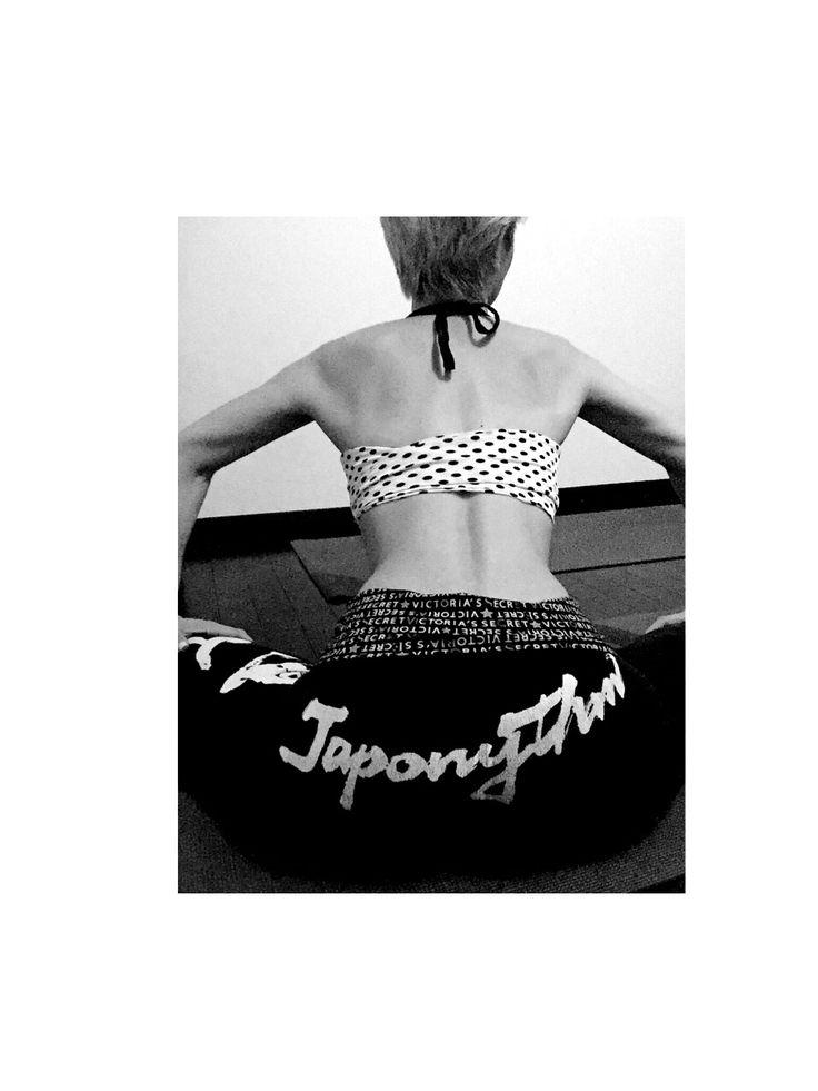 直yoga japonythm in my studio big hip  #直yogajaponythm#腹活#ハラカツ