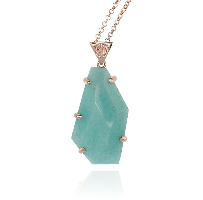 SAMANTHA WILLS - ROMANCING THE STONE NECKLACE - TURQUOISE