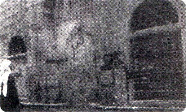 A very old snap of a place that is said to be the 1st Qabar Sharif of Hadrat Sayyiduna Abdullah Radi ALLAHu Ta'ala Anho at Dar an-Nabigha in Madina Munawwarah Conclusion: It is a proven fact from the Holy Quran and Ahadith and the Sayings of the Illustrious A'immah and Exalted 'Ulamāh of Dīn that the parents of the Holy Prophet, Muhammadur Rasoolullah (SallAllahu 'Alaihi wa Sallam) - Sayyiduna Abdullah and Sayyidah Aamina (Radi ALLAHu Ta'ala Anhuma) - were always on Imaan and left this world…