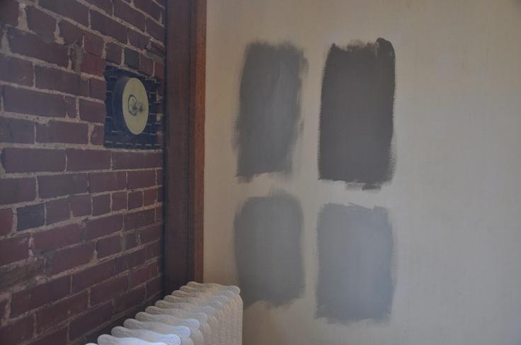 Front Window Tint >> valspar wet pavement/rest hw slate lowes bm coventry gray/lowes bm ozark shadows   Paint samples