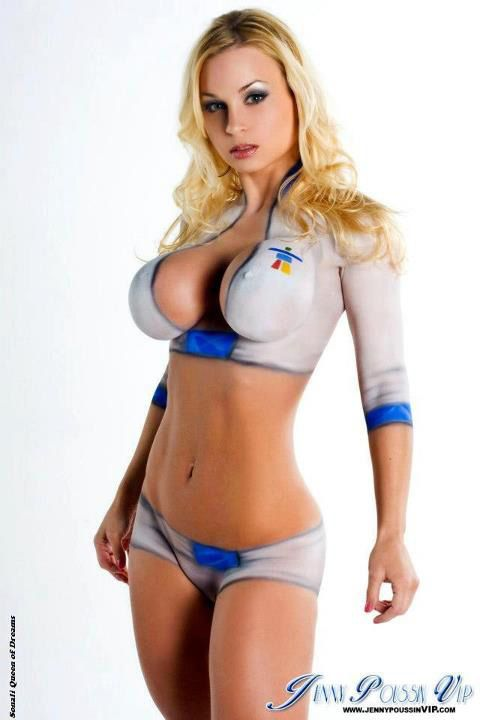 These Sexy Body Paint Girls Are Absolutely Amazing - Likes