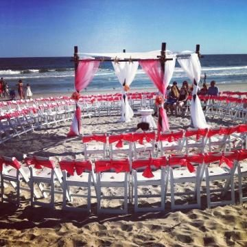 circle wedding ceremony seating | Circle Wedding