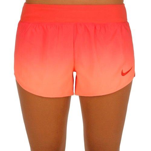 Tenisové Oblečení Nike Court Flex Šortky Dámy - Oranžová, Světle Červená