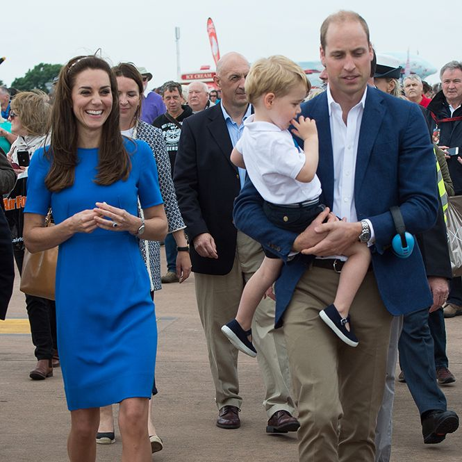 Кризис трех лет по-королевски: принц Джордж показал характер   Marie Claire
