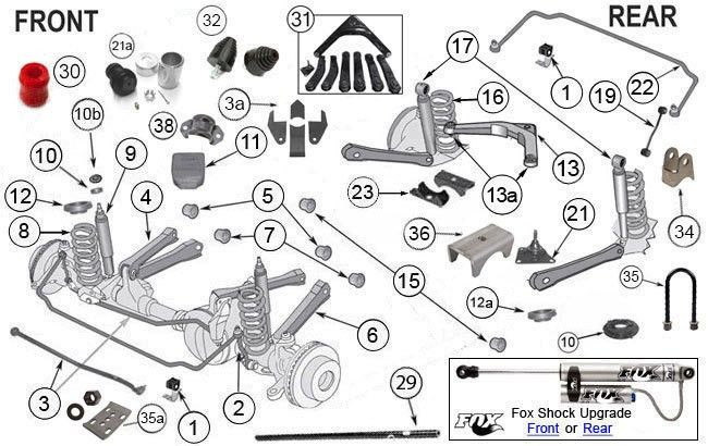 Suspension Parts Components For Grand Cherokee Wj Jeep Grand Cherokee Parts 2003 Jeep Grand Cherokee Jeep Grand