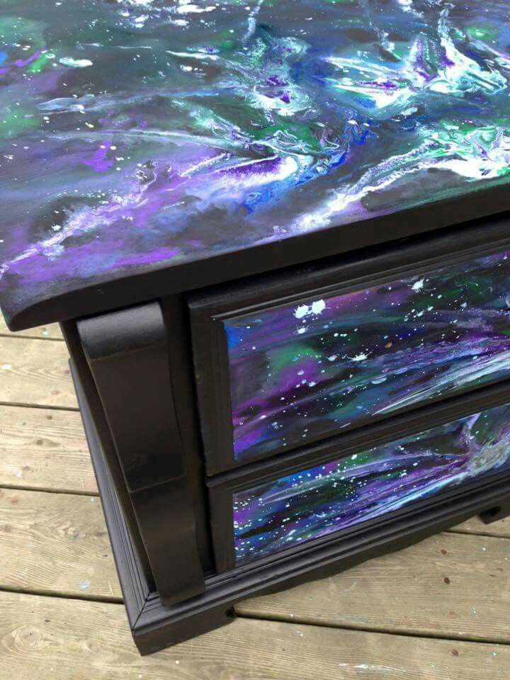 17 Best Images About Unicorn Spit Painting On Pinterest Stains Ikea Table Hack And Galaxies