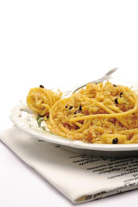 Bucatini con il cavolfiore alla siciliana
