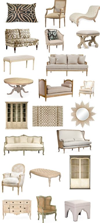 Stunning French and Moroccan furniture sale - new today