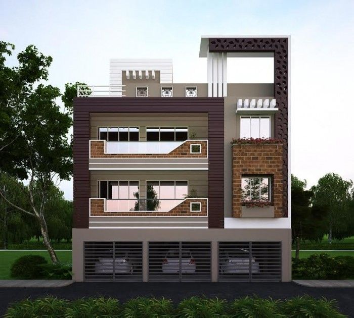 House Front Elevation Pictures In India Small House Elevation Design House Elevation House Outside Design